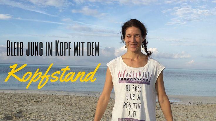 Yoga Übungen mit Yogalexa: Bleib jung im Kopf mit dem Kopfstand