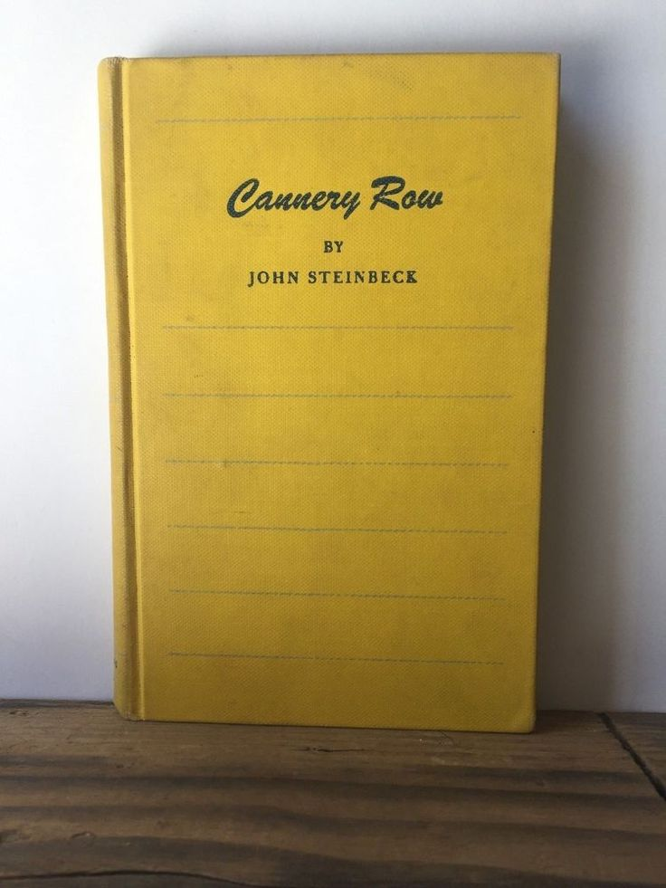 Cannery Row by John Steinbeck, The Viking Press 1945, Hardcover