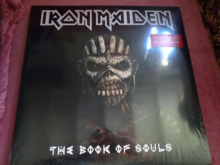 Iron Maiden-Book of Souls-Genuine USA Import BMG, brand new and sealed. LTD EDIT