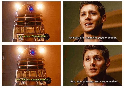 Actually just all of the SuperWho possible, k thx. | 34 Amazing Crossovers You Wish Were Real