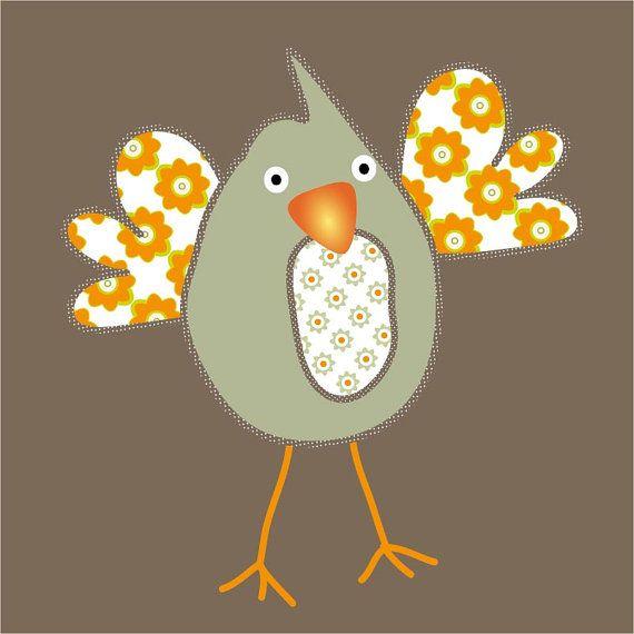Bird on canvas, vogel op canvas, vintage illustratie vogel, retro print vogel, vogeltje schilderij