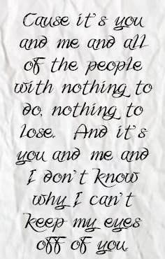 Lifehouse - You and Me  <3 <3 <3