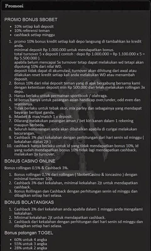 Promo Bonus Agen Klik4D dan Taruhan Bola