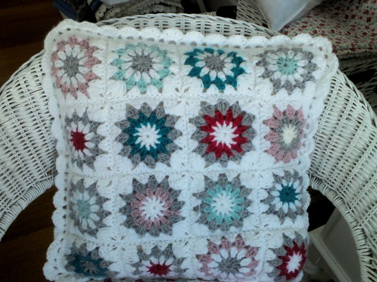 Love this granny square crochet pattern!!!