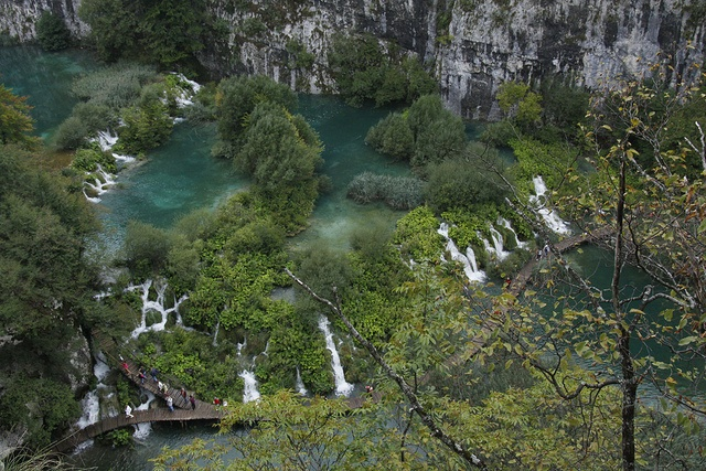 Plitvice Waterfalls in Croatia