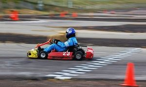 Groupon - 10-Lap Go-Kart Session for One or Two at Action Karting (Up to 38% Off) in Northeast Jefferson. Groupon deal price: $29