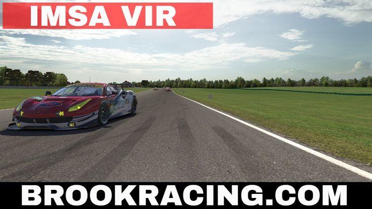 iRacing IMSA Virginia International Raceway (VIR) Ferrari 488 GTE Season 2017