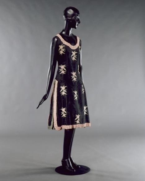 Dress, Nicole Groult designer, French, 1921-27
