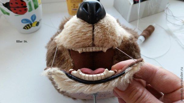 How To Polymer Clay Animal Teeth