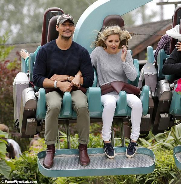 David Gandy & Mollie King at @THORPEPARK