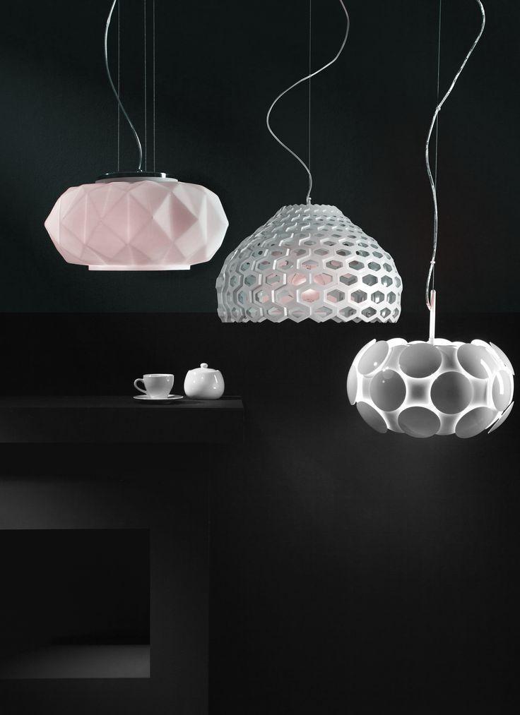 geometric modern light #modern #lighting #light #obipolska #salon