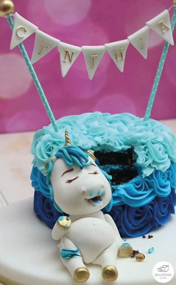 Los pasteles de unicornio más hermosos y originales   – Unicornios