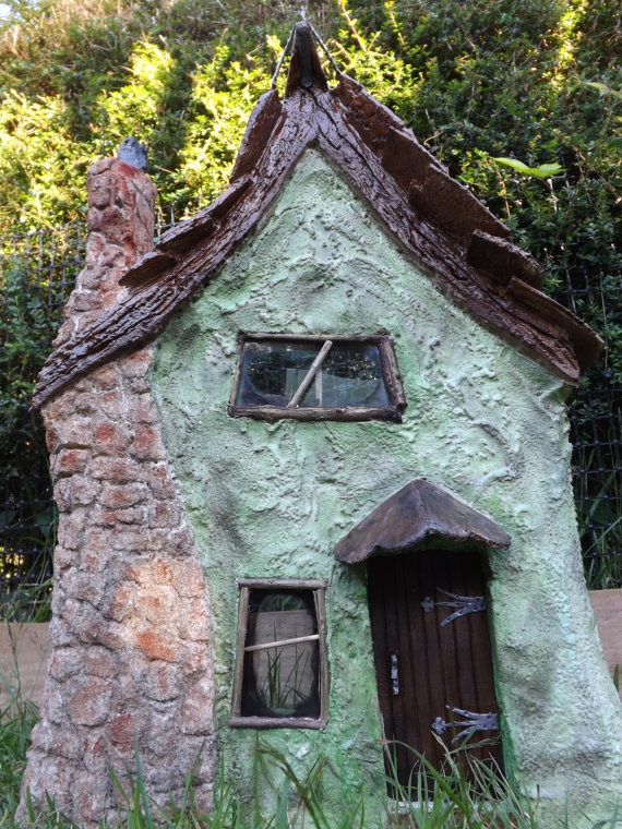 114 best images about haunted miniature houses on for Witches cottage house plans