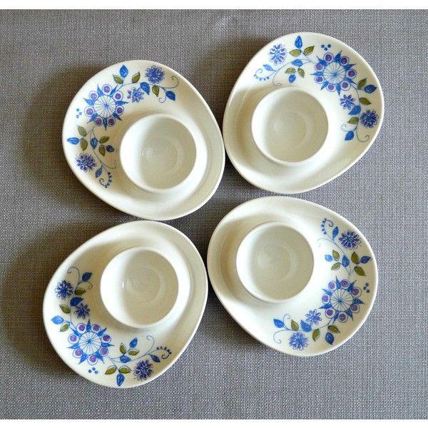 Lotte Egg Cups, Figgjo Flint Norway