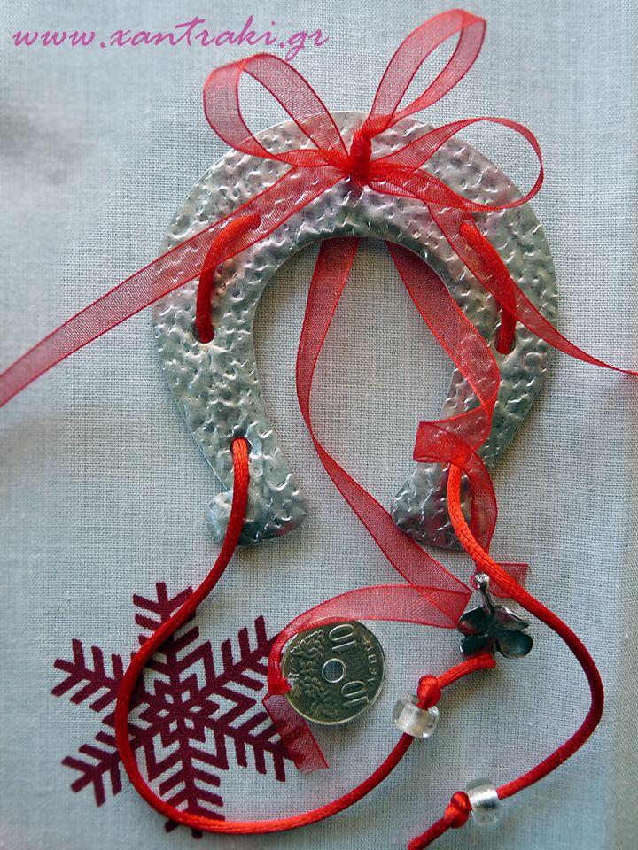 Χριστουγεννιάτικα γούρια. #xantraki #christmas #gouria