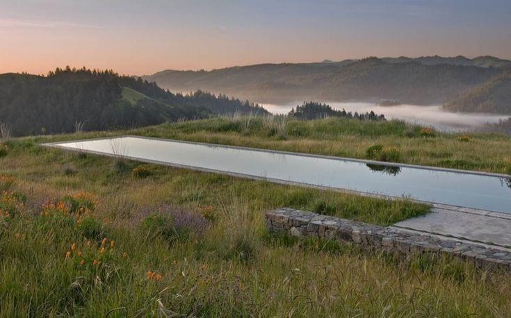 Landscape Architect Visit: Bernard Trainor's Most Beautiful Swimming Pool