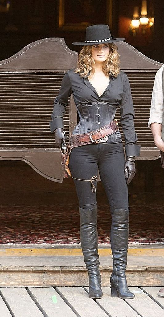 Stana Katic   CASTLE   Cowgirl costume, Wild west costumes ...