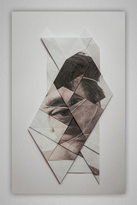 Geometrical Facial Landscapes by Aldo Tolino