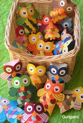The link is not in english, but these owls are adorable.