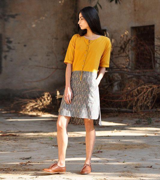 Mix and match shft dress
