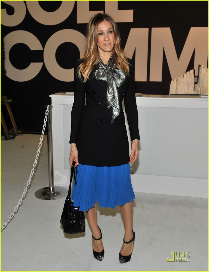 Sarah Jessica Parker attends the 2011 ENK Fashion Coterie at the Jacob Javits Convention Center in New York City