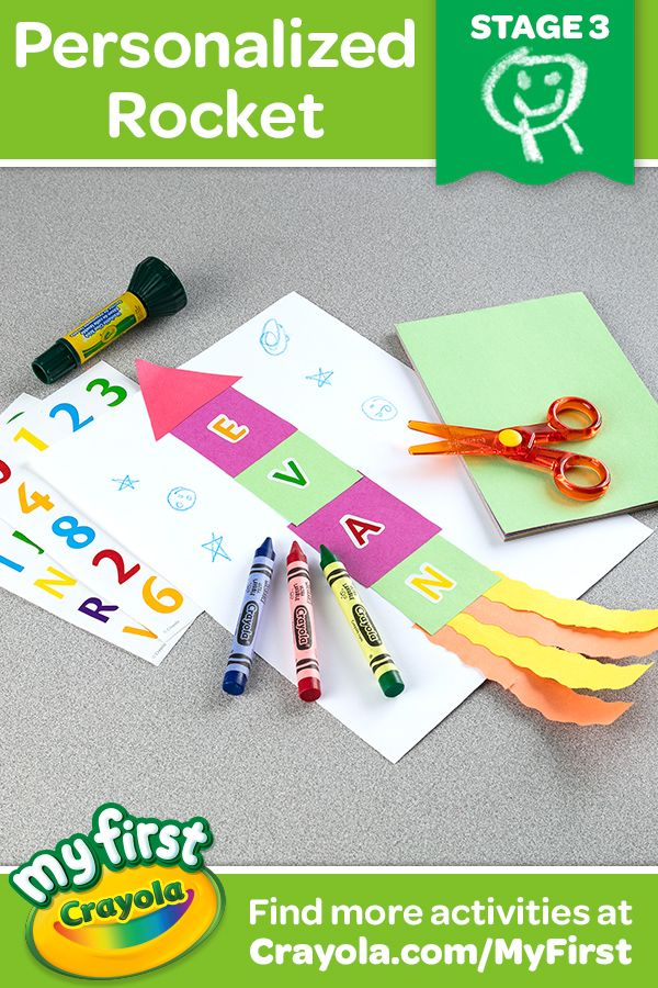 My First Crayola Tools Are Designed To Fit The Early Stages Of A