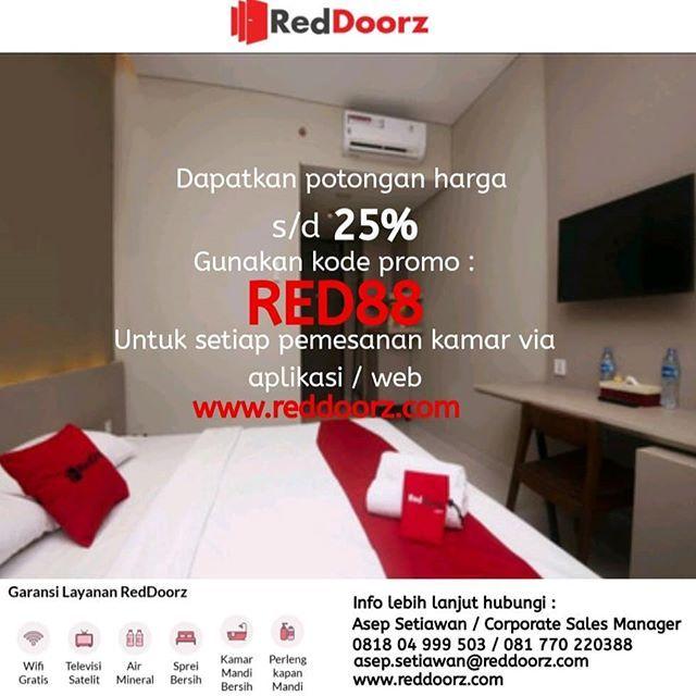 Booking Kamar Melalui App Web Www Reddoorz Com Dapatkan Discount S D 25 Dengan Memasukan Kode Life Pins Booking Kamar Hotel Deals Bekasi Home Decor Decals