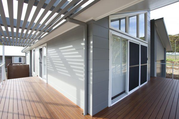 "DecoWood ""Bush Cherry"" DecoDeck timber look aluminium http://www.decorativeimaging.com.au/index.php?option=com_rsgallery2&page=inline&id=90&Itemid=53 #timber #deck #decking #aluminium #design #architecture"