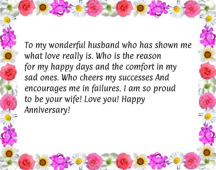 Best 25 Anniversary message for husband ideas on Pinterest
