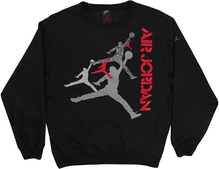 Vintage Nike Air Jordan Sweatshirt Size Large