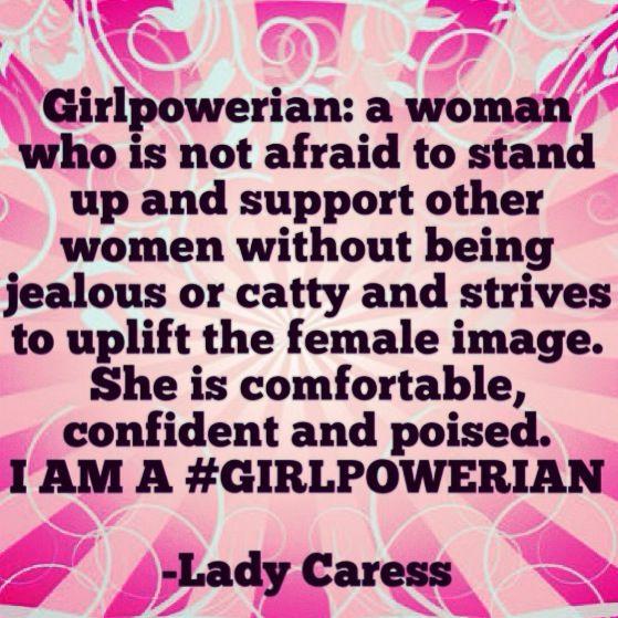 I AM A #GIRLPOWERIAN #girlpower #uplift #support #motivate #inspire #  sc 1 st  Pinterest & 87 best Lady Caress Spoken Word Poetry images on Pinterest ... 25forcollege.com