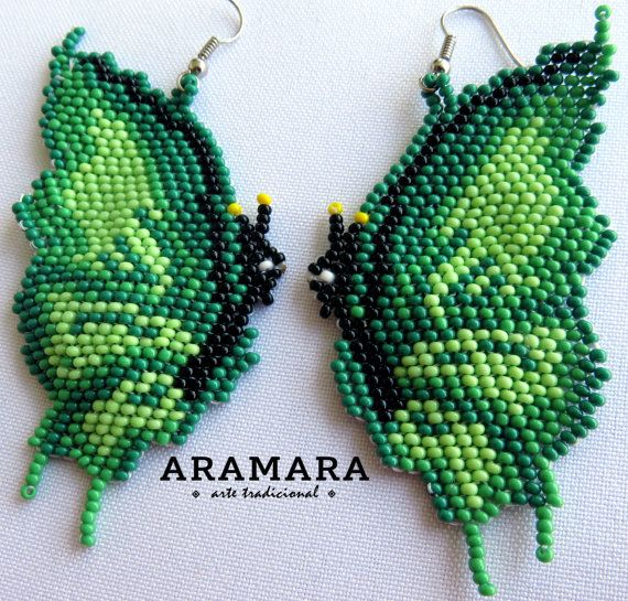17 Best Images About Butterflies-Beaded On Pinterest