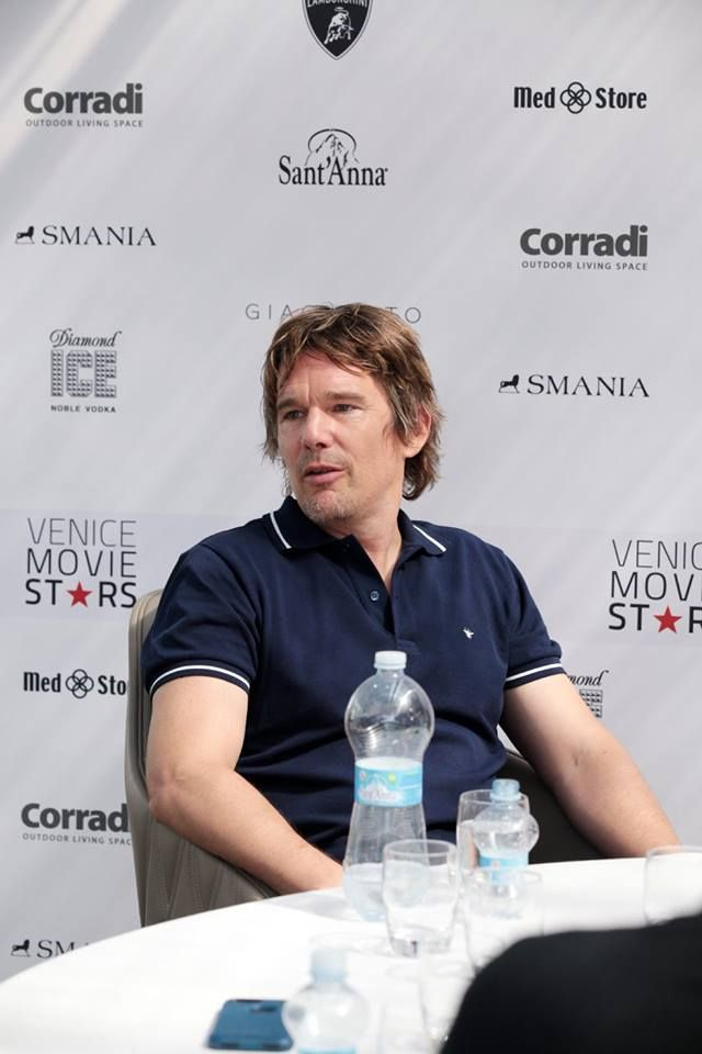 Ethan Hawke - 74th Venice Film Festival - Smania is sponsor of the Venice Movie Star Lounge.
