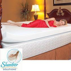 slumber solutions 4inch memory foam mattress topper by slumber solutions - Slumber Solutions