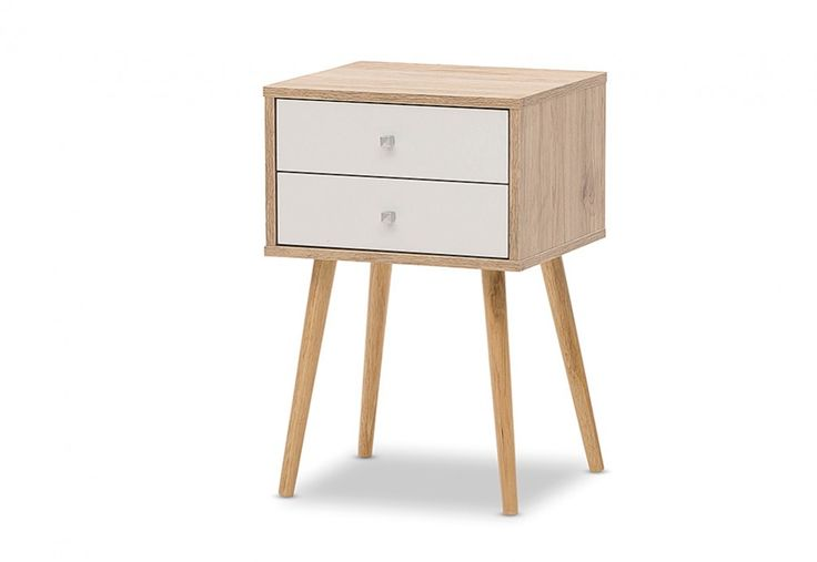 Katrine 2 Drawer Lamp Table | Super Amart