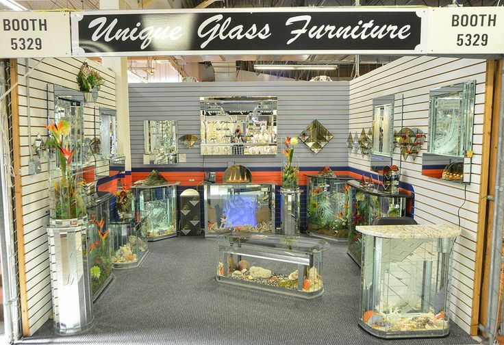 10 best unique glass furniture at festival flea market for Fish furniture outlet