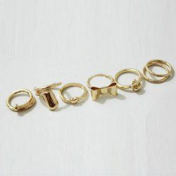$4.09 7PCS Of #Chic #Style #Heart