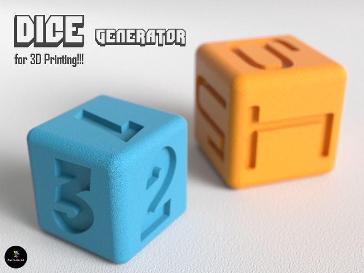 Dice Generator | 3dshare