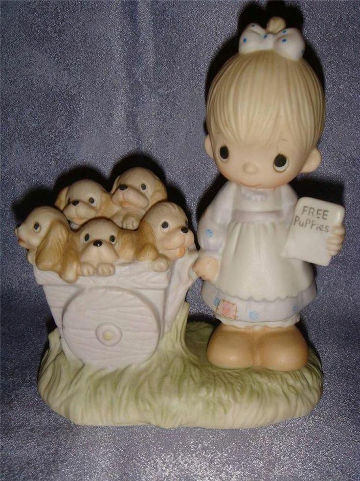 precious moments - e1378 - god loveth a cheerful giver - no mark