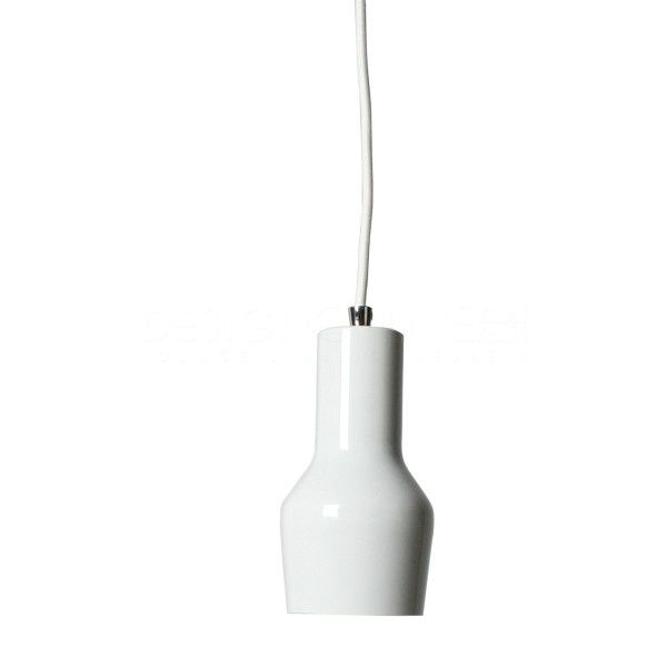 White pendant lamp by Zuiver // Product available on e-homelovers.pl