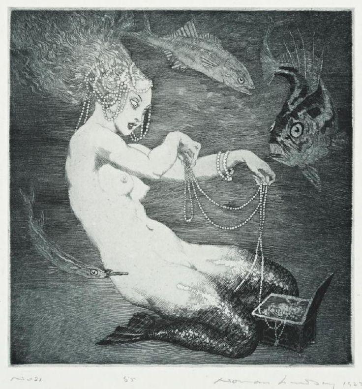 Treasure 1925, Etching