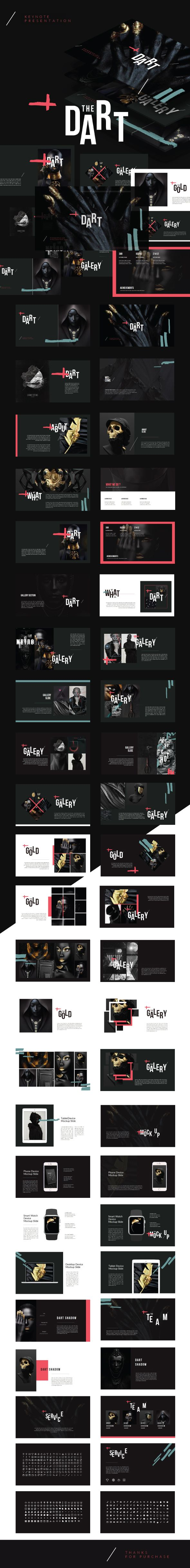 Dart - Creative Multipurpose Keynote Design Template - Creative Keynote Design Templates. Download here: https://graphicriver.net/item/dart-creative-multipurpose-keynote-template/19320815?ref=yinkira