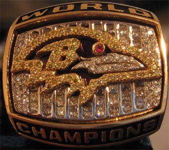 Super Bowl XXXV ring - Baltimore Ravens