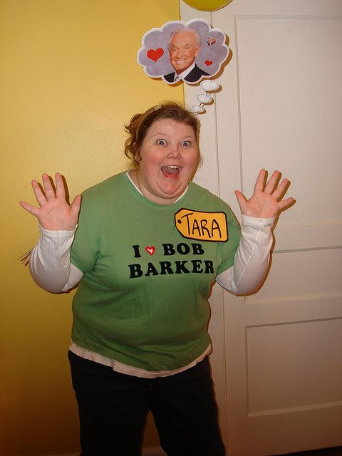 Tara, you're the next contestant on The Price Is Right! Great easy Halloween costume!