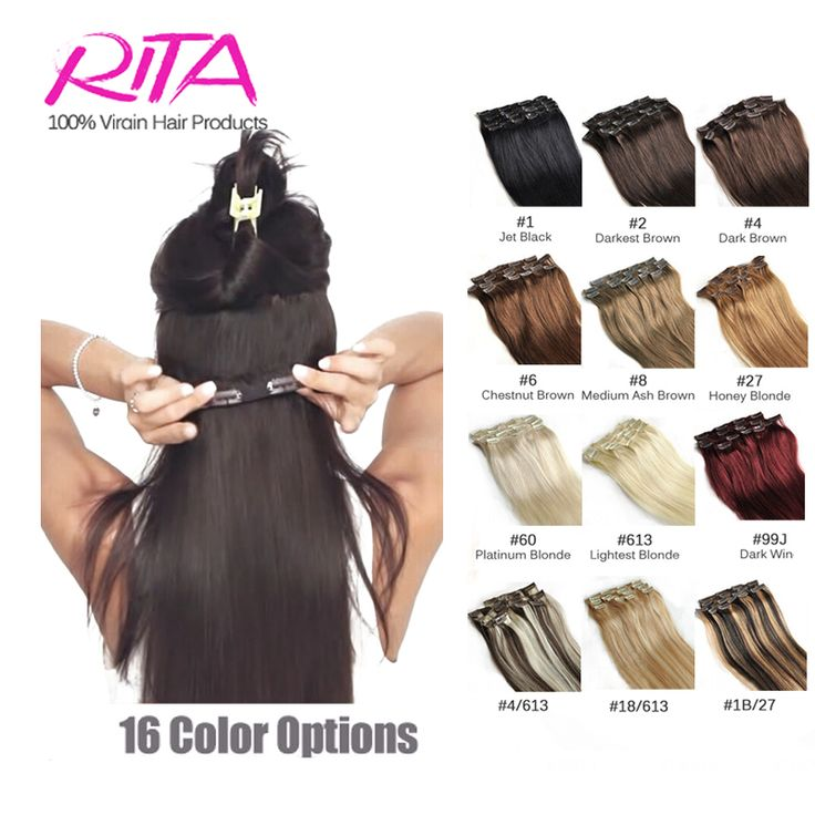 Clip In Human Hair Extensions 18-28Inch Remy Human Hair Clip In Extensions 100g Natural Hair Brazilian Clip In Extensions