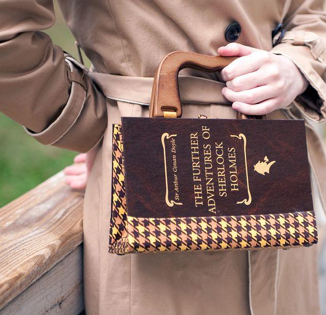Sherlock Holmes Book Purse