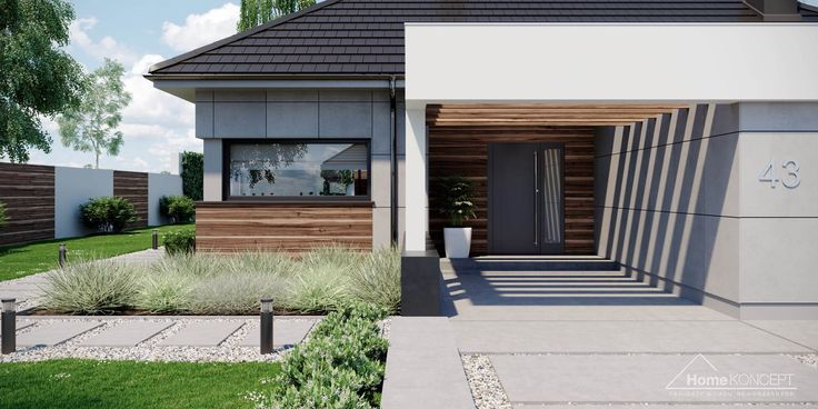Projekt domu HomeKONCEPT-43 | HomeKONCEPT