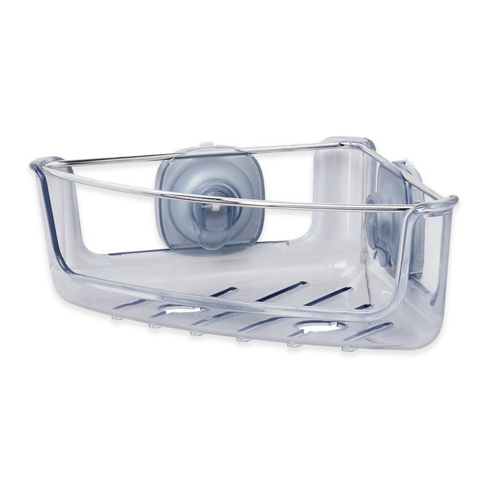 Oxo Good Grips Stronghold Suction Corner Basket Caddy With