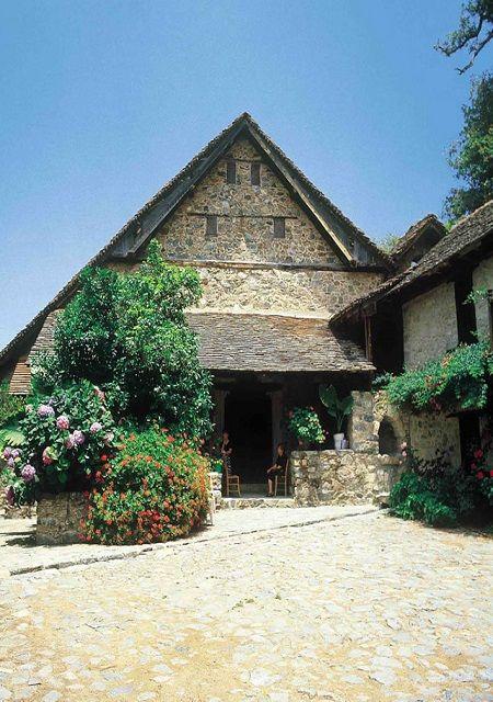 Agio Ioannis Lampadistis Church, Kalopanayiotis Village, Cyprus