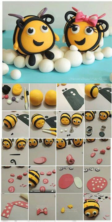 Bee Toppers Picture Tutorial